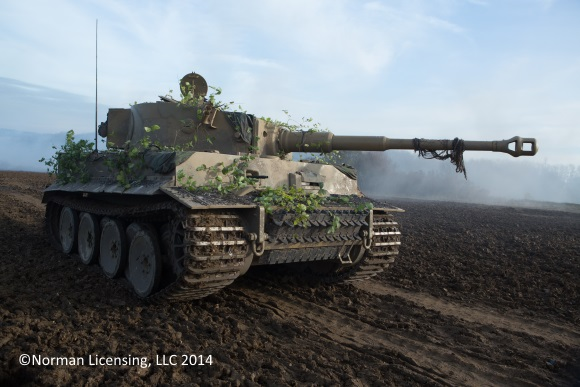 The Tiger Tank in Columbia Pictures' FURY.