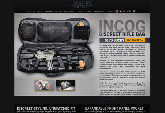 HALEY STRATEGIC INCOG RIFLE BAG