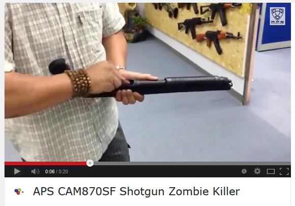 APS CAM870SF Zombie Killer